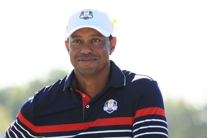 Tiger Woods er kominn aftur í Ryder-lið Bandaríkjanna