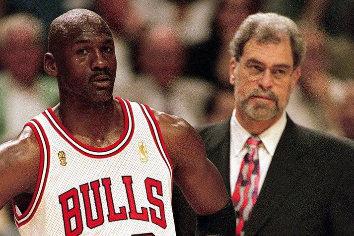 Michael Jordan lét ekki veikindin stoppa sig heldur bauð upp á hetjulega 38 stiga frammistöðu í gríðarlega mikilvægum sigri Chicago Bulls í lokaúrslitunum 1997.
