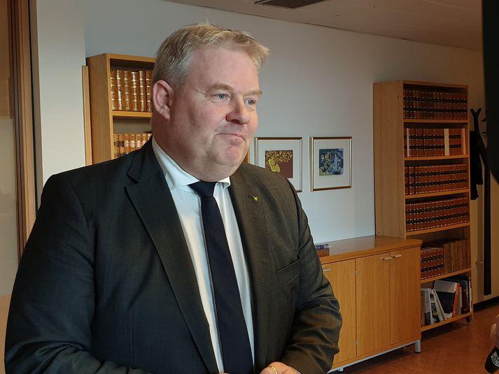 Sigurður Ingi Jóhannsson, samgöngu- og sveitarstjórnarráðherra.