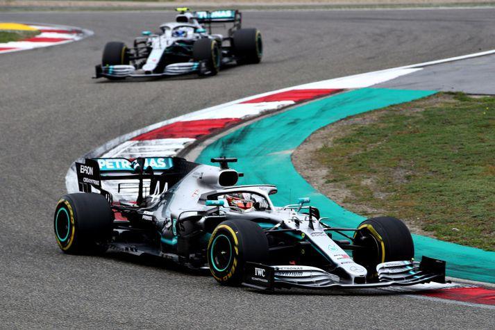 Mercedes hefur verið óstöðvandi það sem af er ári.