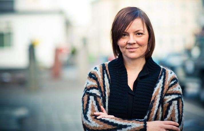 Hilda Jana Gísladóttir, oddviti Samfylkingarinnar í bæjarstjórn Akureyrar.