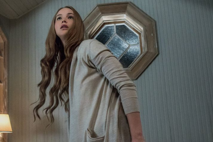 Allur tilfinningaskalinn fær að njóta sín hjá Jennifer Lawrence.