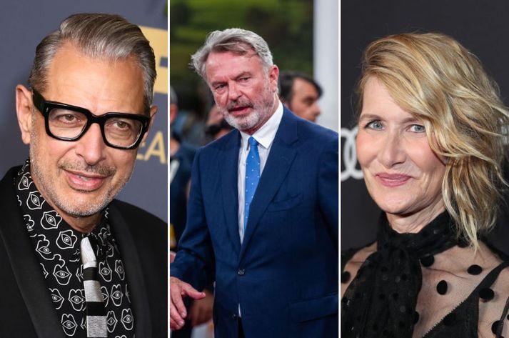 Goldblum, Neill og Dern mæta aftur til leiks sumarið 2021.