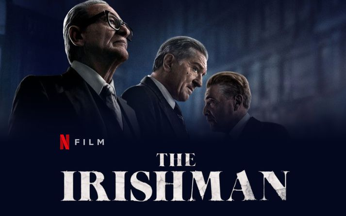 The Irishman er bæði í Bíó Paradís og Netflix.
