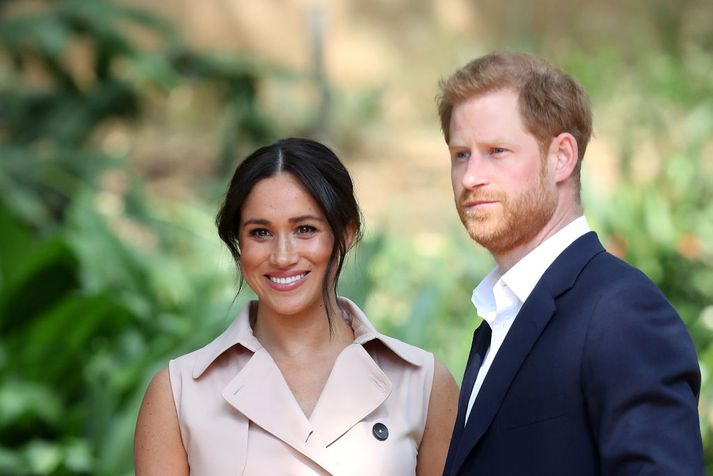 Meghan Markle og Harry Bretaprins, hertogahjónin af Sussex.
