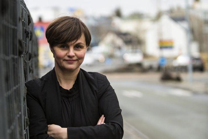 Borghildur Sturludóttir, stjórnmálamaður í Hafnarfirði.