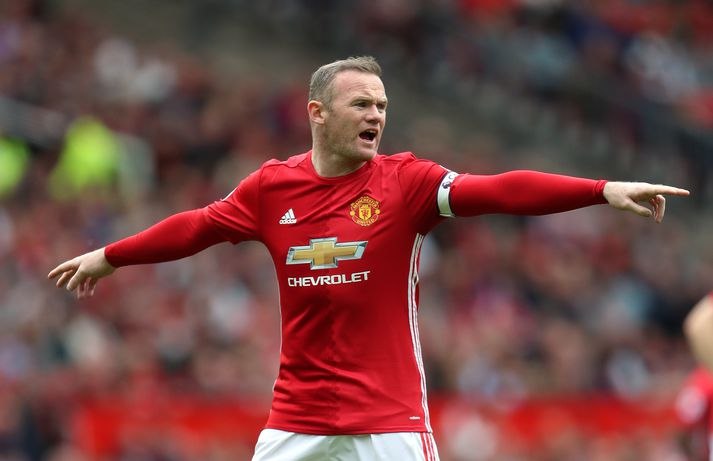 Rooney skoraði 253 mörk fyrir Manchester United.