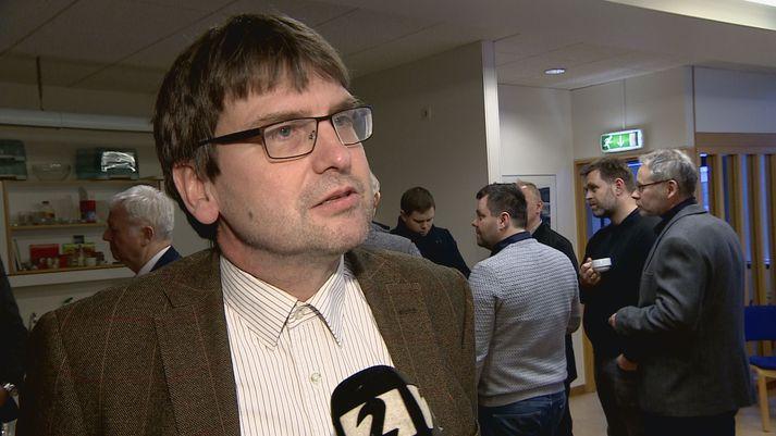 Sigurður Áss Grétarsson, framkvæmdastjóri siglingasviðs Vegagerðarinnar.