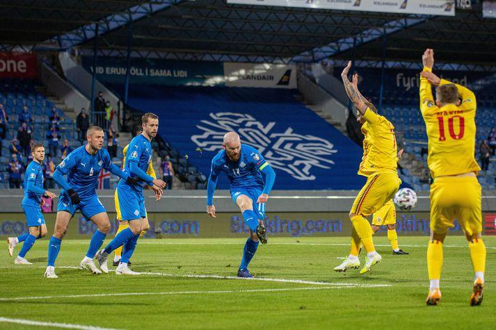 Ísland og Rúmenía mætast aftur í undankeppni HM 2022.