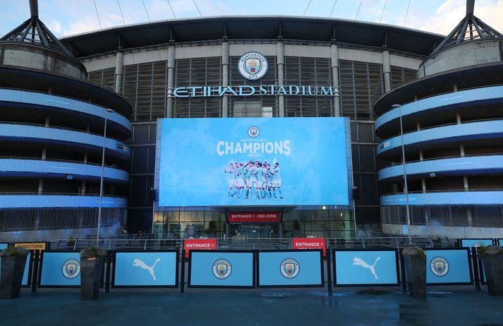 Manchester City hefur fimm sinnum orðið Englandsmeistari frá því að Sheikh Mansour keypti félagið árið 2008, síðast í vor.