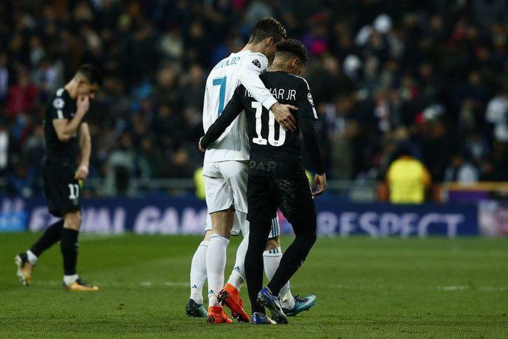 Cristiano Ronaldo og Neymar hafa nokkrum sinnum verið á sama velli en aldrei sem liðsfélagar.