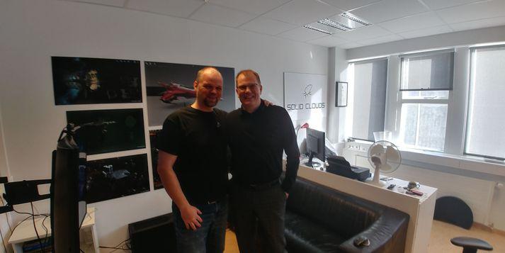 Stefán Gunnarsson og Gísli Hjálmtýsson.