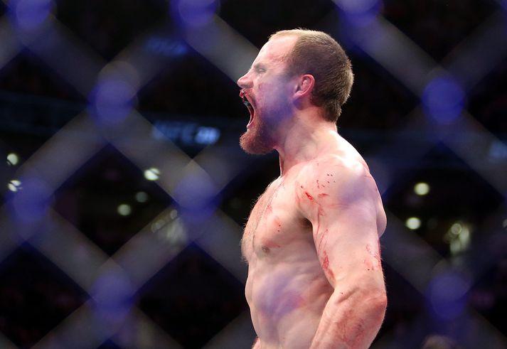 Forráðamenn UFC þurfa að hafa hraðar hendur í að finna nýjan andstæðing handa Gunnari