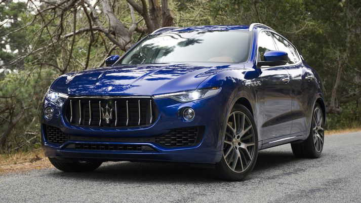 Maserati Levante jeppinn mun fá 570 hestafla vél.