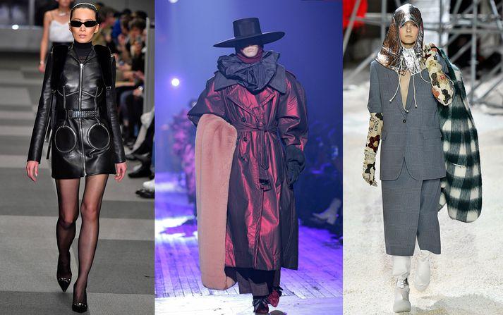 Alexander Wang, Marc Jacobs, Calvin Klein