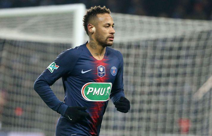 Neymar spilar með frönsku meisturunum í PSG