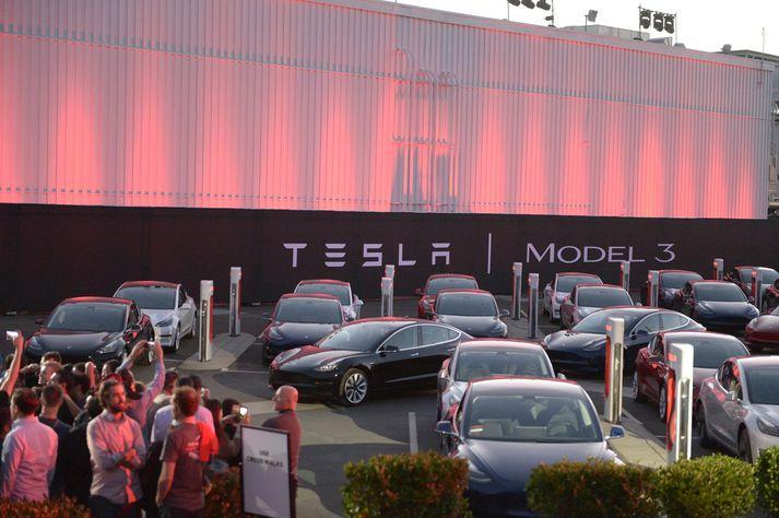Greinendur segja að verði afslátturinn felldur niður muni það koma hvað verst niður á Tesla og General Motors.