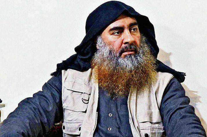 Abu Bakr al-Baghdadi stýrði Íslamska ríkinu frá árinu 2014 allt þar til að hann var felldur um liðna helgi.