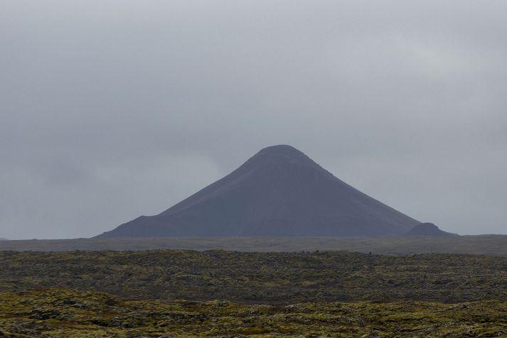Skjálftinn sem mældist um tíuleytið í kvöld var skammt frá Keili.