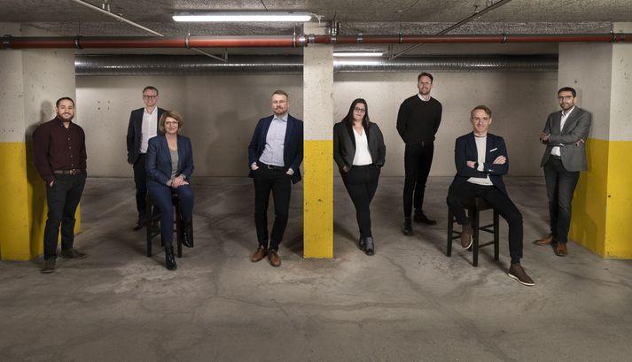 Ráðgjafarsvið KPMG og CIRCULAR Solutions.