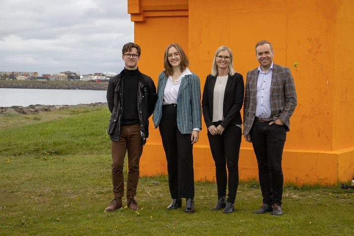 Starri Reynisson, Ingunn Rós Kristjánsdóttir, Bjarney Bjarnadóttir og Guðmundur Gunnarsson.