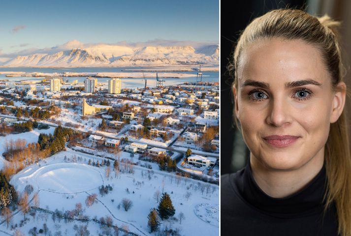 Bergþóra Baldursdótttir, hagfræðingur hjá Íslandsbanka, segir að fækkun ferðamanna hafi mikil áhrif á framboð húsnæðis.