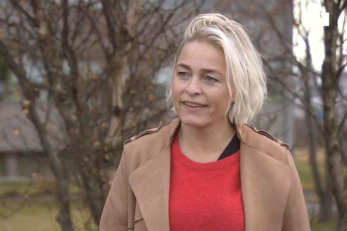 Kristín Jónsdóttir, jarðskjálftafræðingur á Veðurstofu Íslands.