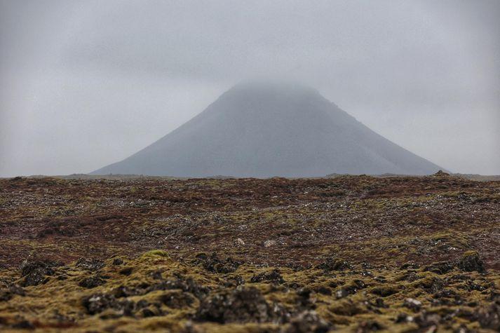Óróapúls mældist suður við Keili á þriðja tímanum í dag.