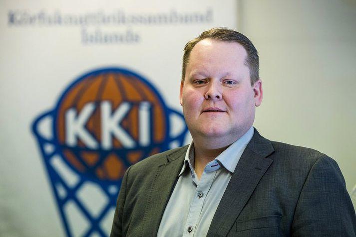 Hannes S. Jónsson er formaður KKÍ.
