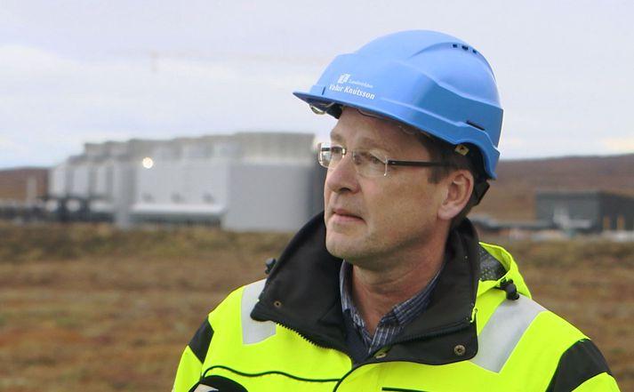 Valur Knútsson, yfirverkefnisstjóri Landsvirkjunar á Þeistareykjum.