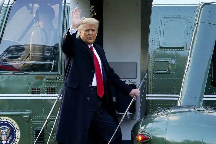 Donald Trump, fyrrverandi forseti Bandaríkjanna.