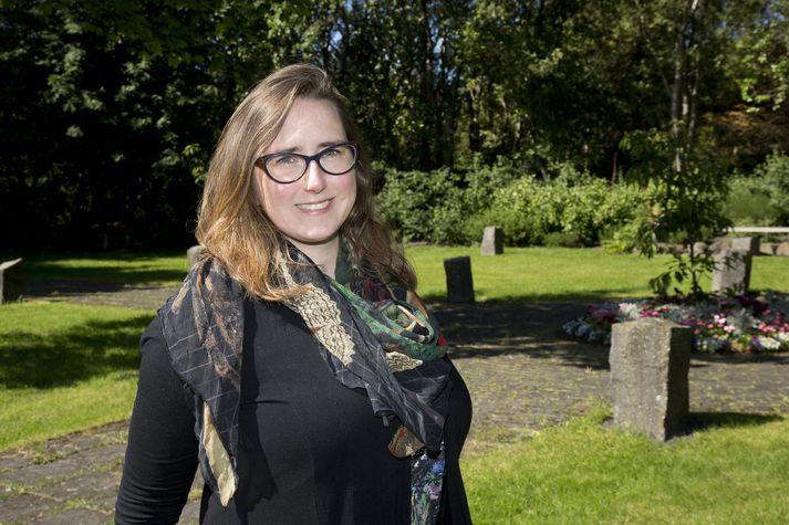Anna Lísa Björnsdóttir er samskipta- og viðburðastjóri VG