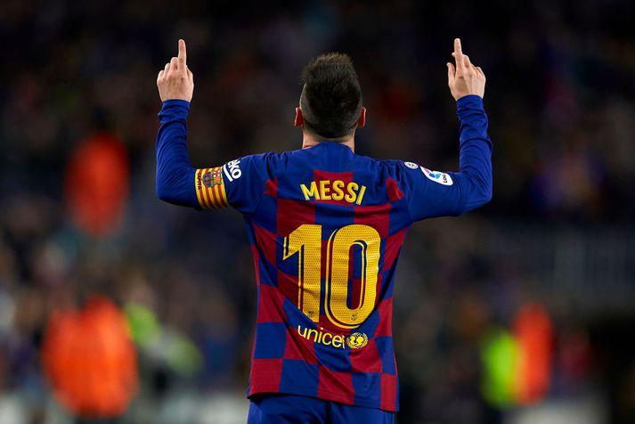 Lionel Messi er fastagestur á sjónvarpsskjám landsmanna í Meistaradeild Evrópu í knattspyrnu og spænsku efstu deildinni.