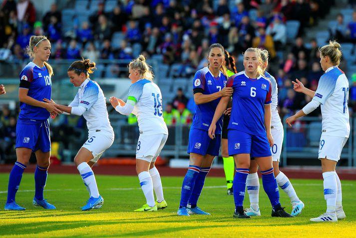 Ingibjörg Sigurðardóttir lék í 1-0 sigrinum gegn Slóvakíu á Laugardalsvelli fyrir rúmu ári en bendir á að íslenska liðið nú sé nokkuð breytt síðan þá.