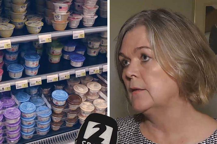 Mikil nýsköpun er í skyrframleiðslu í Finnlandi samkvæmt Kristínu Aðalbjörgu Árnadóttur, sendiherra.