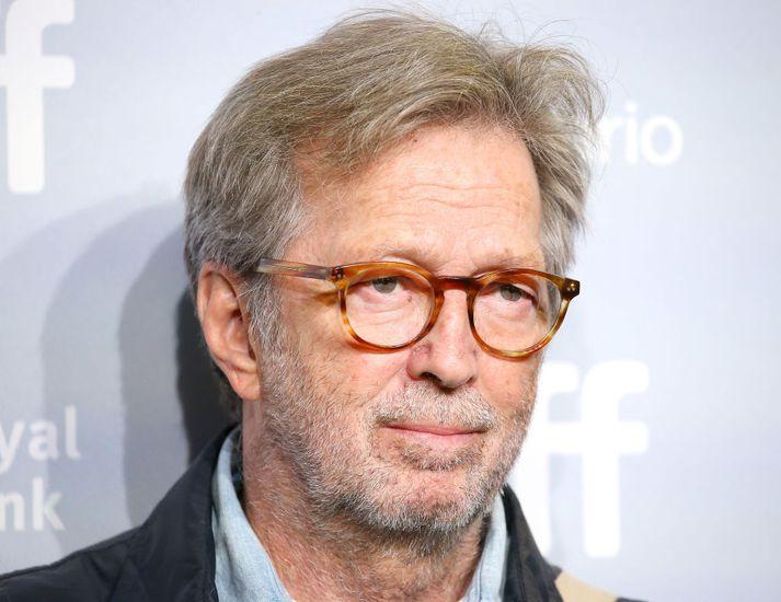 Eric Clapton er talinn vera einn besti gítarleikari allra tíma.