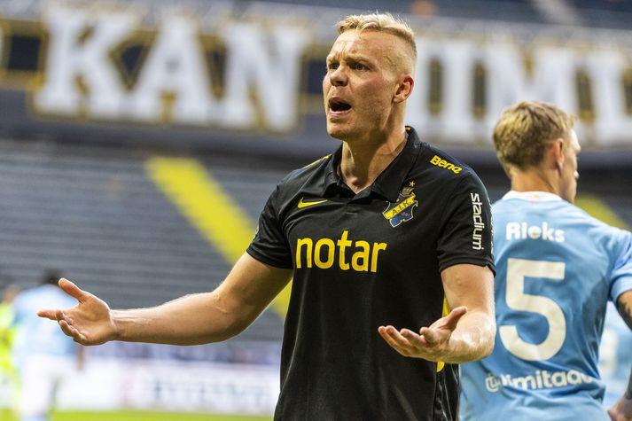 Kolbeinn Sigþórsson lék með AIK á árunum 2019-20.
