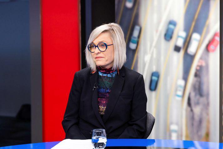 Kristín Jónsdóttir,hópstjóri náttúruvárvöktunar á Veðurstofu Íslands.