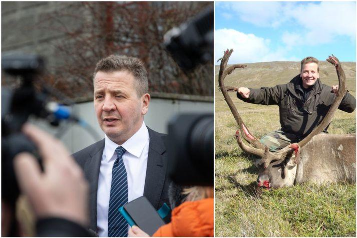 Ýmsir skotveiðimenn eru áfram um að veiðimaðurinn Guðlaugur Þór hljóti góða kosningu í Reykjavík.