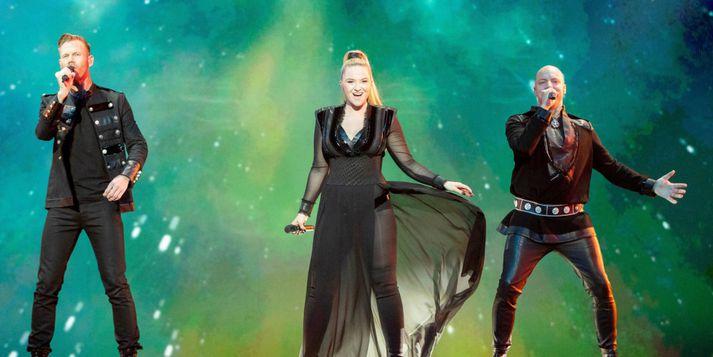 Keiino fóru mikinn í Eurovision-keppninni í fyrra.