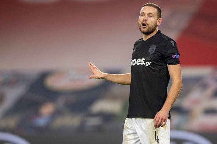 Sverrir Ingi Ingason var ekki í leikmannahópi PAOK í kvöld.