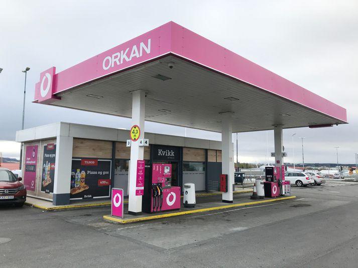 Skeljungur rekur meðal annars bensínstöðvar Orkunnar.