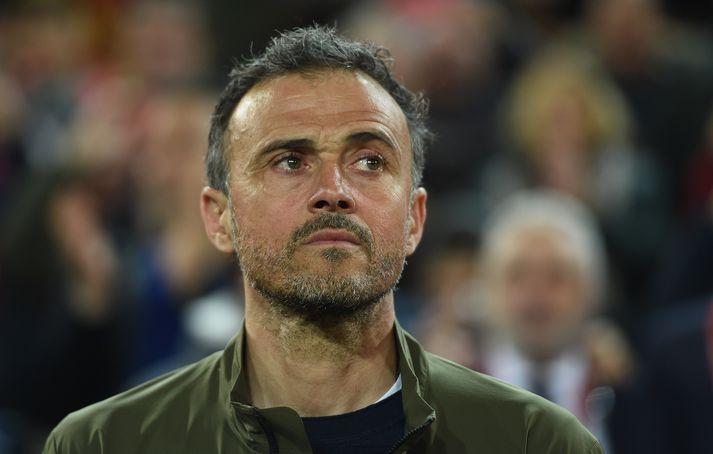 Enrique er tekinn aftur við spænska landsliðinu og stýrir því á EM 2020.