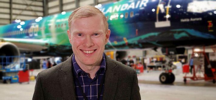 Jens Þórðarson erframkvæmdastjóri flugrekstrar Icelandair Group.