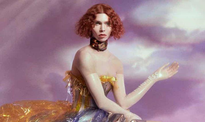 Sophie á umslagi plötu sinnarOil of Every Pearl's Un-Insides.
