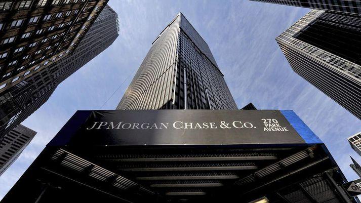 JPMorgan Chase og Co. er stærsti lánveitandi Bandaríkjanna.