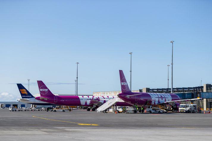 Kaupin á WOW verða í forgrunni á hlutahafafundi Icelandair í lok mánaðarins.