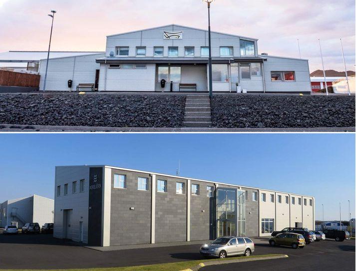 Höfuðstöðvar Vísis og Þorbjarnar í Grindavík.