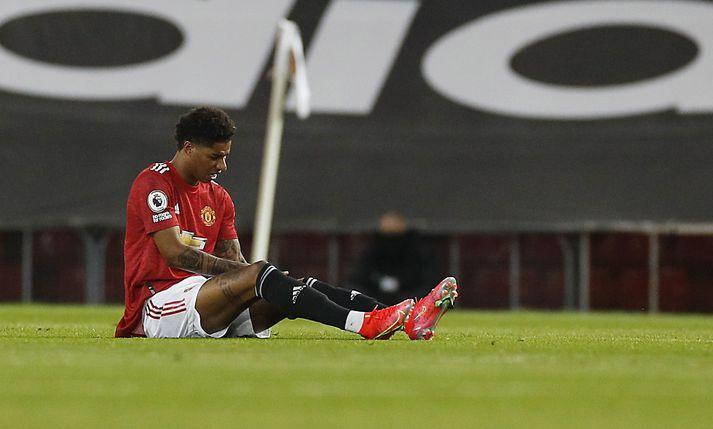 Marcus Rashford hefur skorað 20 mörk fyrir Manchester United á þessari leiktíð.