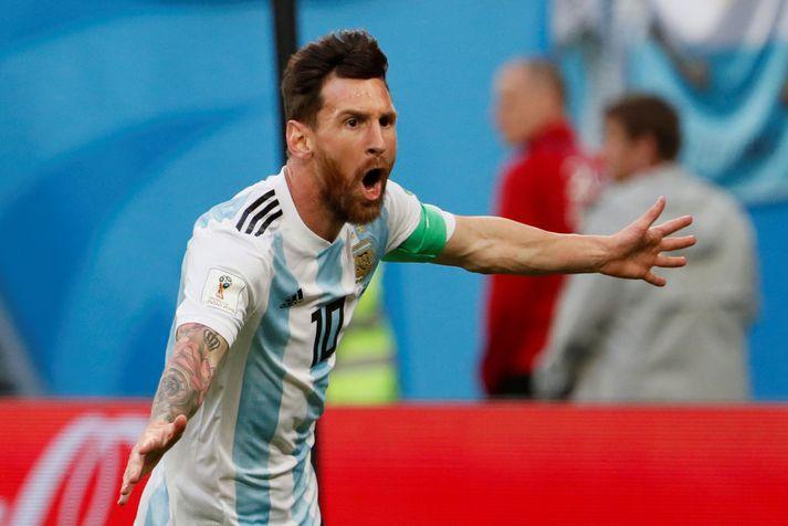 Lionel Messi verður í eldlínunni með argentínska landsliðinu á Copa America
